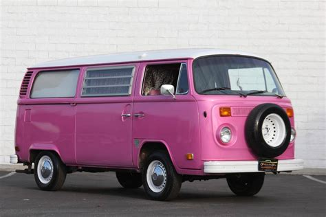 pink volkswagen inside vw microbus for sale autos post