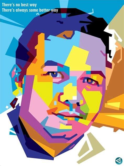 tutorial vector corel draw wpap pop art 36 best images about wpap wedha s pop art portrait on