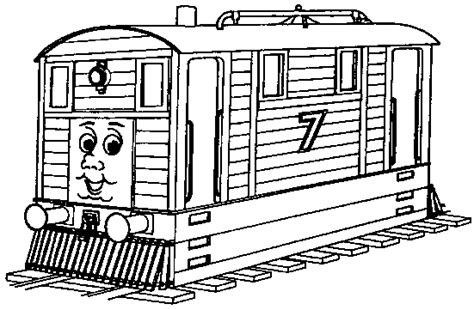 Thomas The Tank Engine Coloring Pages For Kids The Tank Engine Colouring Pages To Print