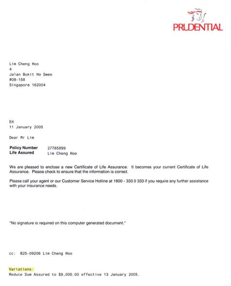 Certificate Received Letter Format sle of certificate in singapore choice image