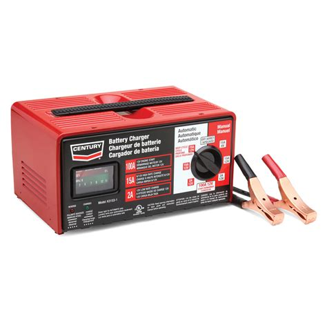 shop century 100 battery charger at lowes