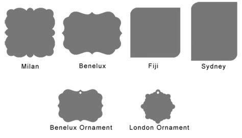 Plaque Shapes Template Print Metal Prints Baking Cake Decorating Pinterest Template Create A Plaque Template