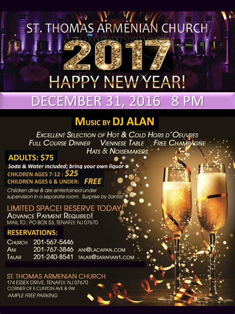 new year dinner booking new year s dinner st armenian