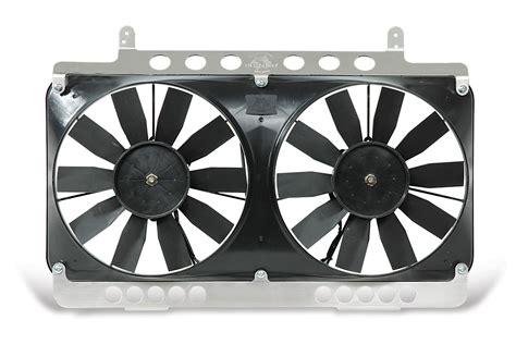 electric fans automotive flex a lite automotive compact reversible dual 11 inch