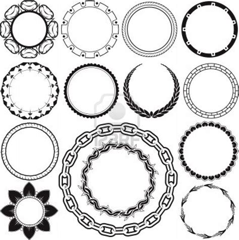 circle design tattoos circle designs style