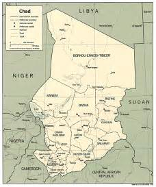 Chad Africa Map by Chad Map Chad Africa Mappery