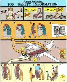 Aircraft Safety Card Olympic Airlines Boeing 737 400