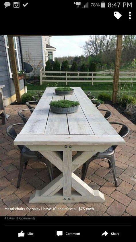 Farmhouse Patio Table Best 25 Farmhouse Outdoor Furniture Ideas On Farmhouse Outdoor Dining Furniture
