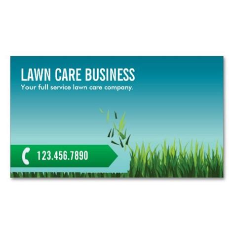 lawn care business cards templates free professional landscaping business cards image collections