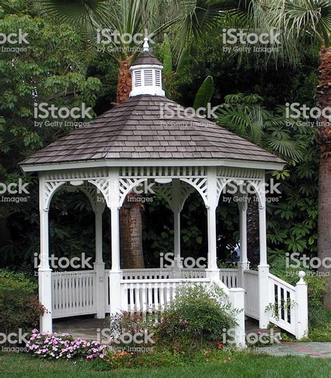white gazebo white gazebo stock photo more pictures of antique istock
