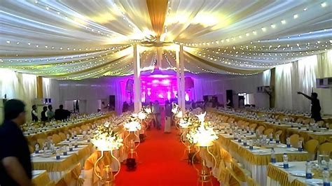beautiful Marriage Pandal Decoration   YouTube