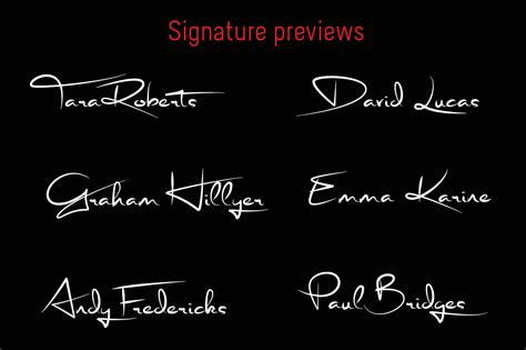 stephen type font signature font  chebby graphicriver