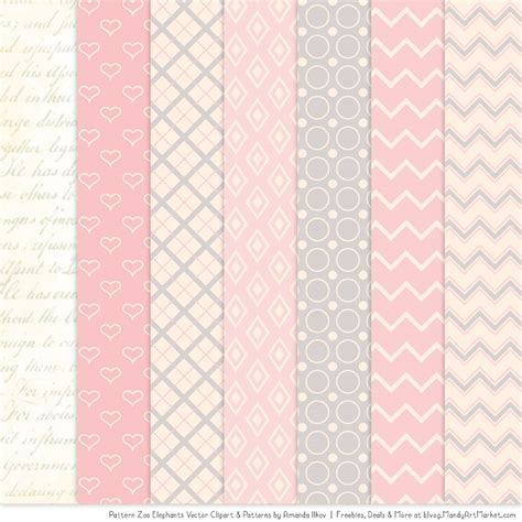 pattern pink soft soft pink patterned elephant clipart and patterns