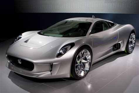 2010 jaguar c x75 concept images specifications and information