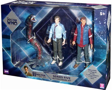 b m figures doctor who series five b m exclusive 5 figure set