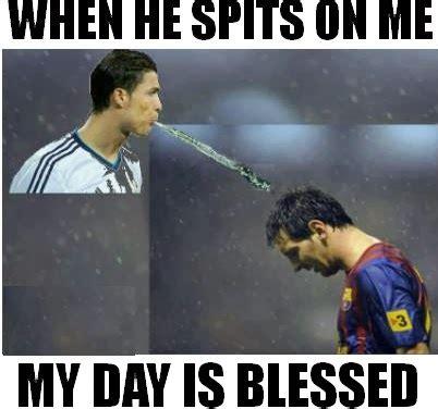 Messi Meme - messi and ronaldo funny quotes quotesgram