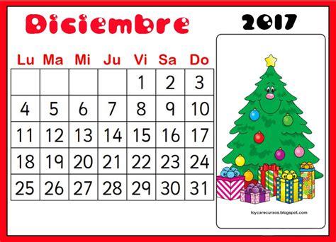 Calendario Mes Recursos De Educaci 211 N Infantil Calendario Mes De Diciembre
