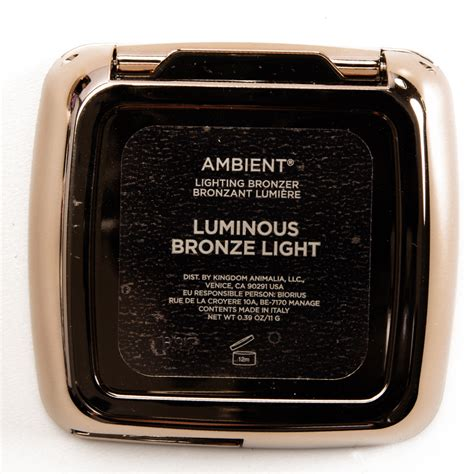 hourglass bronzer luminous bronze light hourglass luminous bronze light radiant bronze light