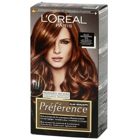 loreal hair color brown hair loreal preference glam highlights 04 http www