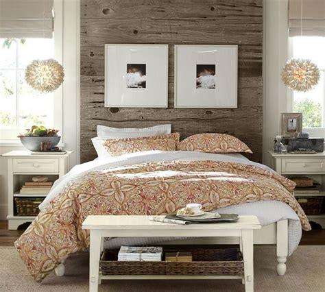 pottery barn bedrooms earthy bedroom calming tones and comforting textures
