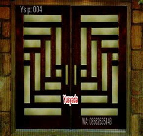 Multipleks Jakarta jual pintu rumah kayu jakarta jual pintu rumah jakarta