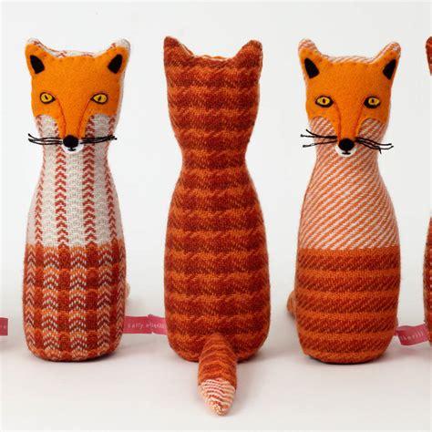 Handmade Fox - handmade fox by sally weatherill notonthehighstreet