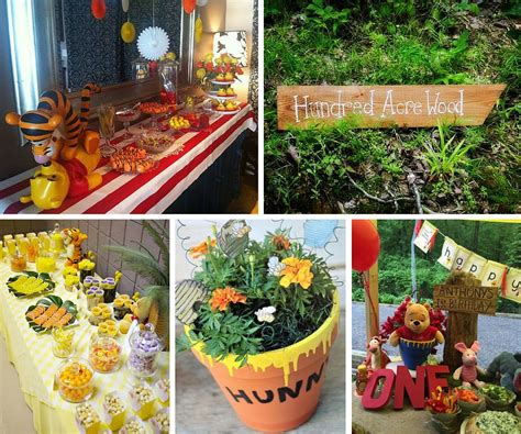 Winnie The Pooh Decorations by Pooh Ideas Winnie The Pooh Ideas At Birthday