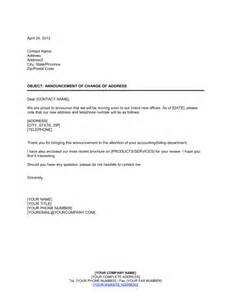 Change Of Address Announcement Template by 1page 6 A Detailed Study On Organizational Change Letter