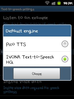 ivona text to speech apk ivona text to speech android