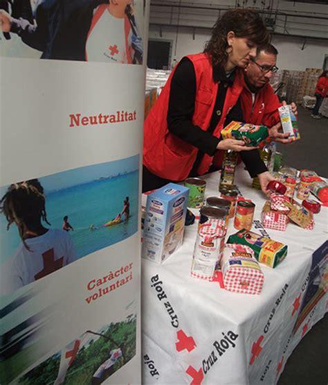 cruz roja comienza el reparto de alimentos  la solidaridad castellon cruz roja noticias