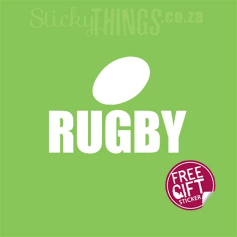 Rugby Wall Stickers rugby field room art sticker stickythings co za