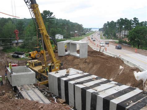 precast concrete culvert sections upper peninsula concrete pipe company