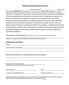personal information release form template personal information release form template 28 images