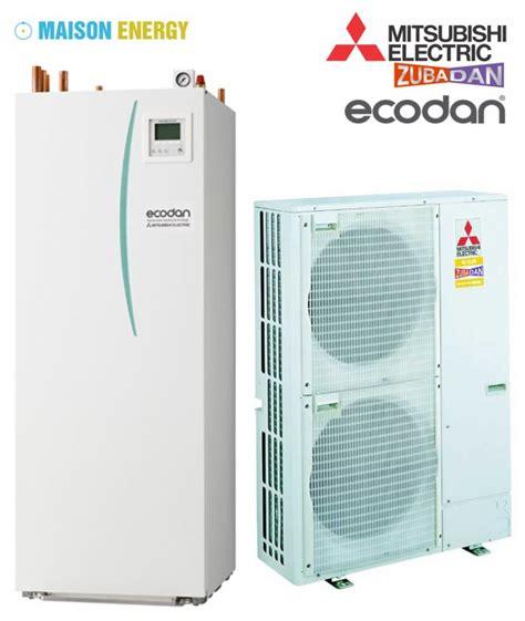mitsubishi ecodan hydrobox duo zubadan pompe 224 chaleur de