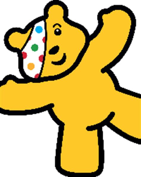 university of leicester shape up with pudsey bear