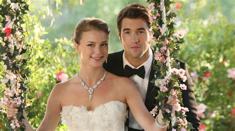 revenge emily vanc wedding emily vanc and josh bowman wedding relive emily vanc josh