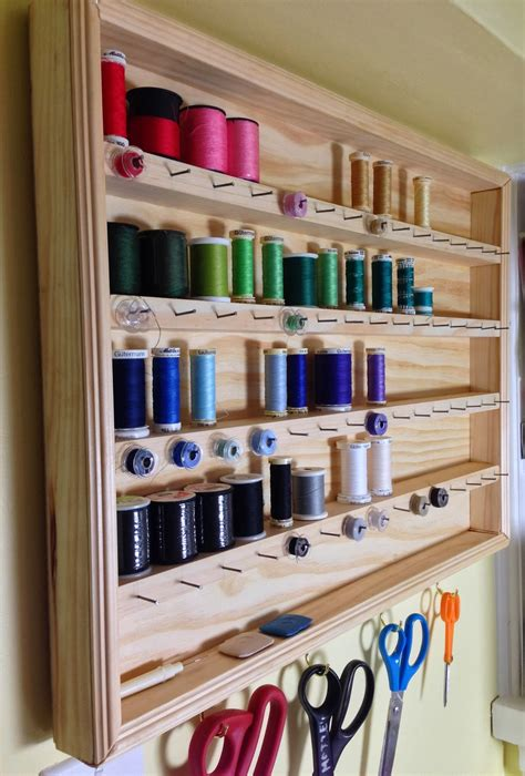 Storage Solutions For Craft Rooms - sew organized constructing a thread organizer the crafty magpie