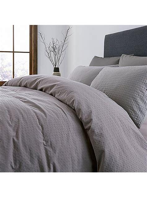 waffle bed linen washed waffle bed linen range grey house of fraser