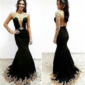 Popular black lace mermaid prom dress buy cheap black lace mermaid
