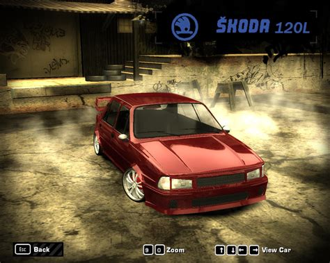 nfs most wanted wagen need for speed most wanted skoda 120l nfscars