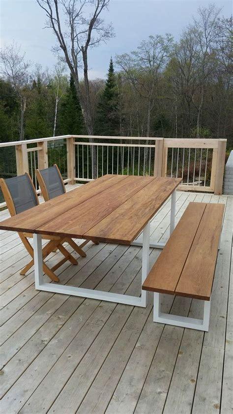 mobilier patio mobilier teck 4 beau patio