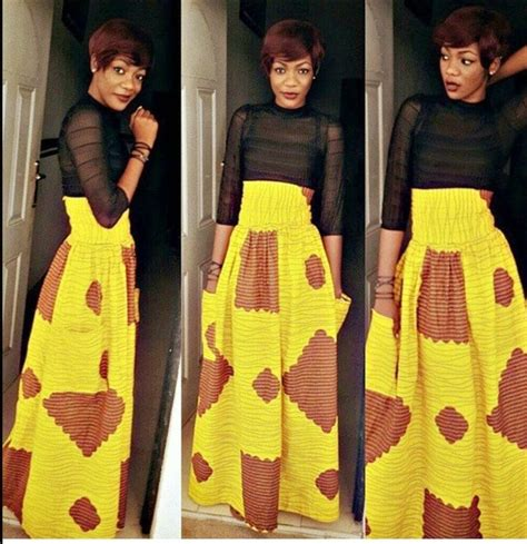 ankara styles skirt and blouse ankara skirt and blouse style see more styles here gt gt http