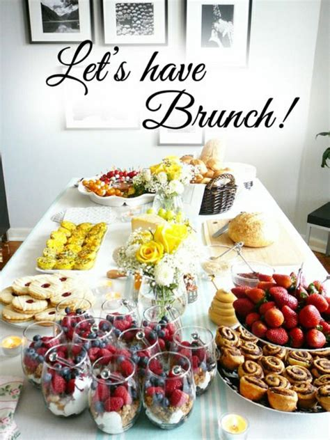 brunch setup fantastische brunch ideen 100 inspirierende fotos