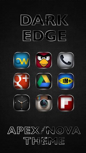 themes apex apk free dark edge apex nova theme apk new version zez apk