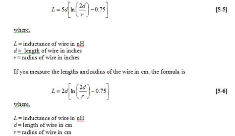 inductor calculation formula pdf exles of inductance calculations 28 images toroid inductance formula 28 images toroids
