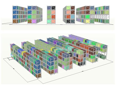 pallet racking layout design software dss decision support systems warehousing center