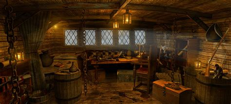 ship captain room pirate s cabin by imagineer dpchallenge pirate mini cabin pirate ships and ships
