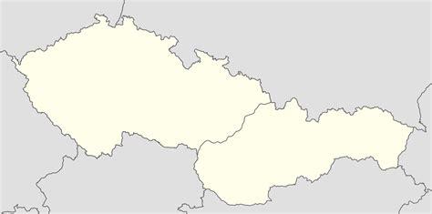 czechoslovakia map file czechoslovakia 1951 1990 location map png wikimedia commons