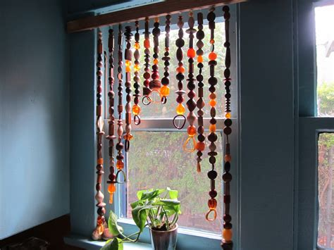 bead window curtains how to make a bead curtain bead curtains beads and craft