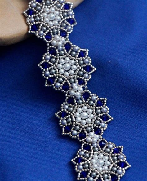 free beading tutorials free tutorial for beadwoven bracelet by li 235 k use